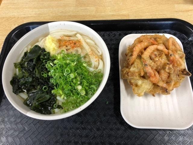 ワカメうどん+小エビかき揚げ.jpg